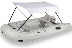 inflatable boat +accessories and electric motor