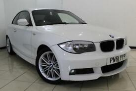 2011 61 BMW 1 SERIES 2.0 120D M SPORT 2DR 175 BHP DIESEL
