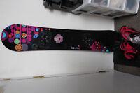 Burton snowboard + bindings
