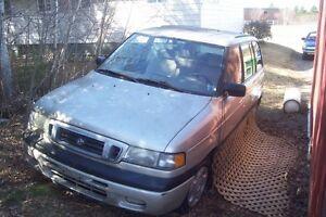 1997 Mazda MPV Minivan, Van