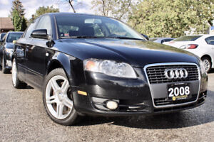 2008 Audi A4 2.0T  - RARE Six Speed M/T - Must See - Certified !