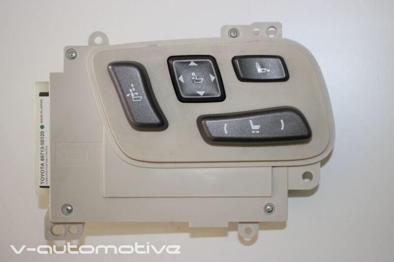 2008 LEXUS LS 460 / RHD FRONT R-SIDE SEAT ADJUSTMENT SWITCH