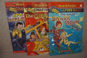 "9 SOFT COVER ""MAGIC SSHOOL BUS"" SCIENCE CHAPTER BOOKS~$2.75 EACH Edmonton Edmonton Area image 3"