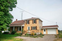 Country House & Workshop 45 mins from West Island or Chateauguay