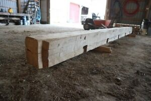 Hand Hewn Barn Timber for Sale