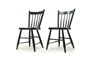 Quebec French Country Chairs Made in the Late 1800's