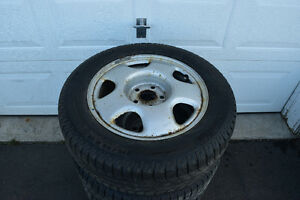Acura RDX 215/65/17 Michelin Snows On Rims 65% Tread