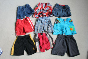 9 Pairs of Boys Shorts /Swimming Trunks Size 2