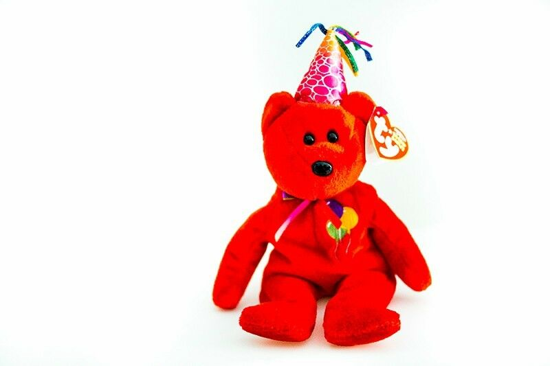 TY beanie baby Birthday bear for baby infant toddler kid child