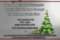 The Hamlets at Westsyde Annual Christmas Craft Fair