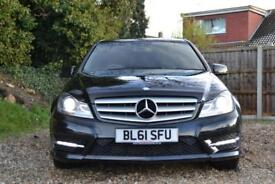 2012 MERCEDES C-CLASS C250 CDI BLUEEFFICIENCY SPORT AUTO SALOON DIESEL