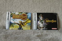 Golden Sun and Golden Sun Lost Age game manuals