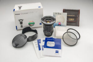 Superb Lens Bundle ~  Zeiss 21mm f/2.8 ZF.2  ~ SHIPPING INCLUDED