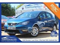 2012 62 SEAT IBIZA 1.2 TSI SE DSG 5D AUTO 104 BHP