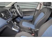 2015 Hyundai i10 1.2 Premium Petrol silver Automatic