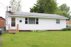 Modern two bedroom house for rent in Pictou. Available March 1st
