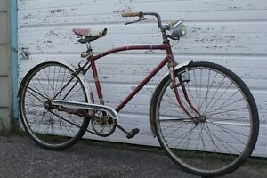 VINTAGE 60S BICYCLE