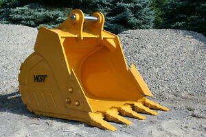 WGT – Excavator: Rakes, Rippers, Buckets, & Couplers Kawartha Lakes Peterborough Area image 6