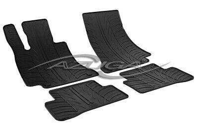 Gummimatten für Mercedes C-Klasse W205/S205 (T-Modell) ab 2014 Gummi-Fußmatten