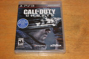 Call of duty Ghosts PS3 Neuf et scellé