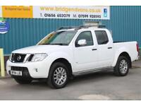 2014 NISSAN NAVARA OUTLAW 3.0 DCI V6 4X4 DOUBLECAB 5 SEAT DIESEL AUTOMATIC PICK