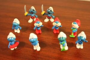 "Two Peyo ""West Bully"" Smurf Figures - $5 EACH plus others"