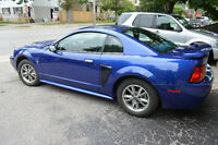 2003 Sonic Blue Ford Mustang Coupe - Awesome Sound System!