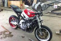 Projet stunt bike cbr600 f2