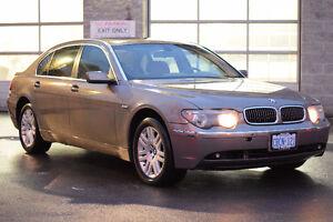 2002 BMW 7-Series 745 Li Sedan