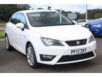 2013 SEAT Ibiza SC 1.6 TDI CR FR 3-Door Diesel white Manual