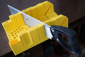 Stanley Miter Box with Saw