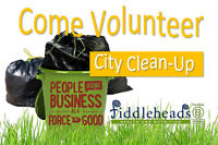 Volunteers Needed for a City Clean-Up with Fiddleheads!