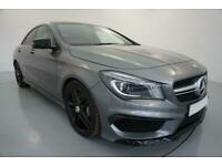 2014 GREY MERCEDES CLA45 2.0 AMG 4MATIC PETROL AUTO COUPE CAR FINANCE FR £370PCM