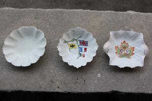 3 China Candy bowls