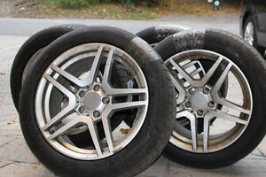 Michelin Winter Tires + Rims (Set of Four)