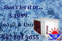 Garage Heater install & unit only $1999