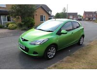 Mazda 2 1.3 2008 5 doors, Full Service history, 2017 mot, Great condition and spec