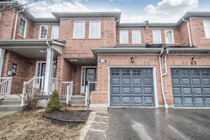 Fabulous Rare Find 4 Bdrm + 4 Bath Townhouse for Sale In Ajax!!