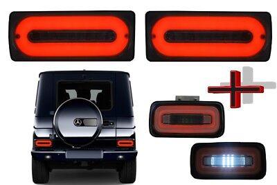 LED Rücklichter Lichtleiste Für  Mercedes Benz G-Klasse W463 89-15 NBL Smoke
