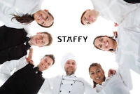 ON-CALL : Cooks/Dishwashers/Servers/Bartenders needed
