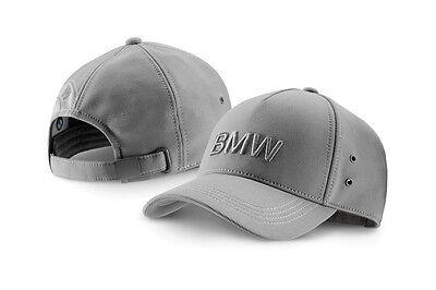 NEU !!!! Original BMW Wordmark Cap Basecap Kappe grau grey
