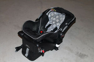 Britax child seat with stroller adapters
