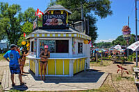 Summer Help for a busy  ice-cream hut in Port Dover