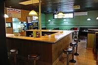 restaurant Montérégie batisse + terrain + fond de commerce