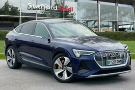 image for 2020 Audi E-Tron portback S line 55 quattro 300,00 kW Auto Hatchback Electric Au