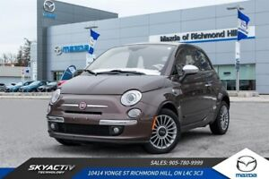 2013 Fiat 500C Lounge LEATHER*ALLOYS*CABRIOLET