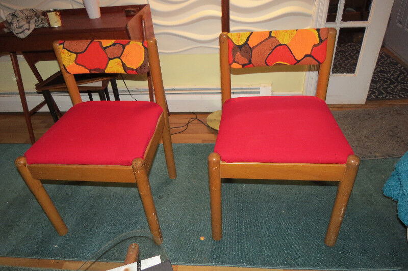 Two Fun And Funky Mid Century Teak Chairs | Dining Tables U0026 Sets |  Fredericton | Kijiji
