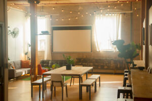 Shared Creative Coworking Loft Space Available