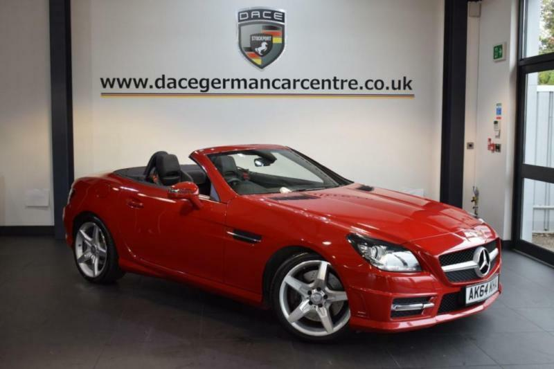 2014 64 MERCEDES BENZ SLK 2.1 SLK250 CDI BLUEEFFICIENCY AMG SPORT 2DR AUTO  204 B