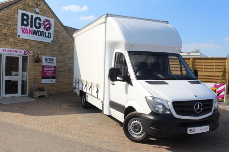 2014 MERCEDES SPRINTER 313 CDI LWB CURTAIN SIDE BOX VAN CURTAIN SIDE DIESEL